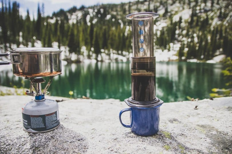 Coffee in the Great Outdoors