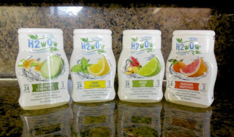 H2O All Natural Liquid Water Enhancer