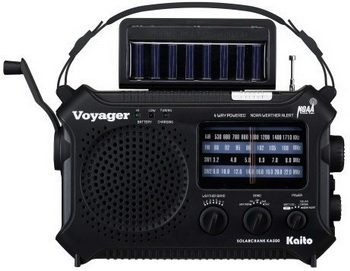Kaito KA500 Solar Radio