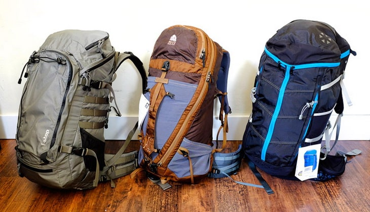 Panel Loader Backpacks for Hiking