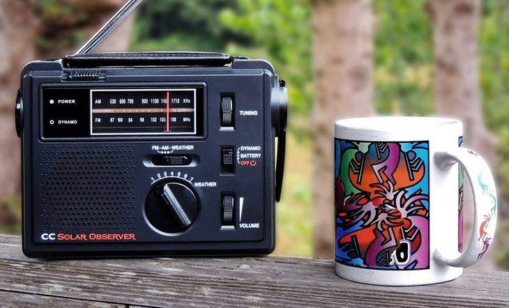 CC Solar Radio and a cup of tea