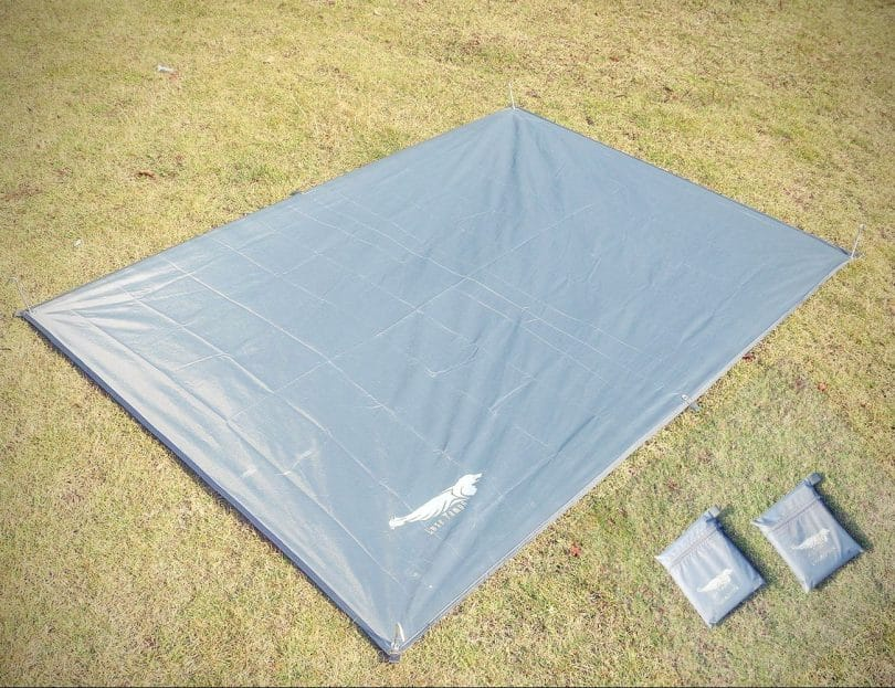 Silnylon Footprint on the ground & Tent Footprint Vs Tarp: What is Better for Your Needs?
