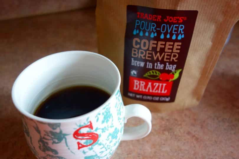 Trader Joe's Pour Over Brazil Coffee