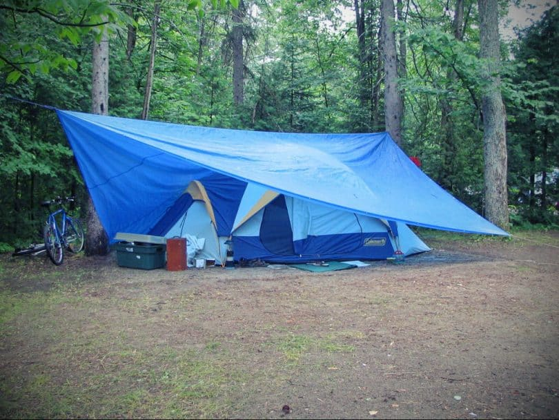 a tarp to protect from heavy rainfall & Tent Footprint Vs Tarp: What is Better for Your Needs?