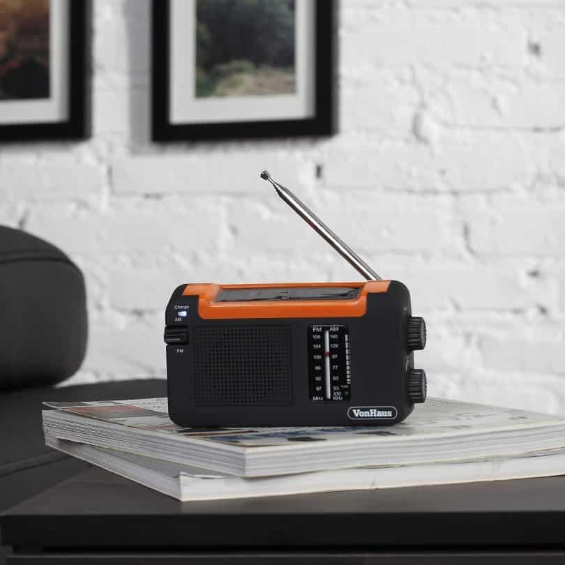 easy to use solar radio
