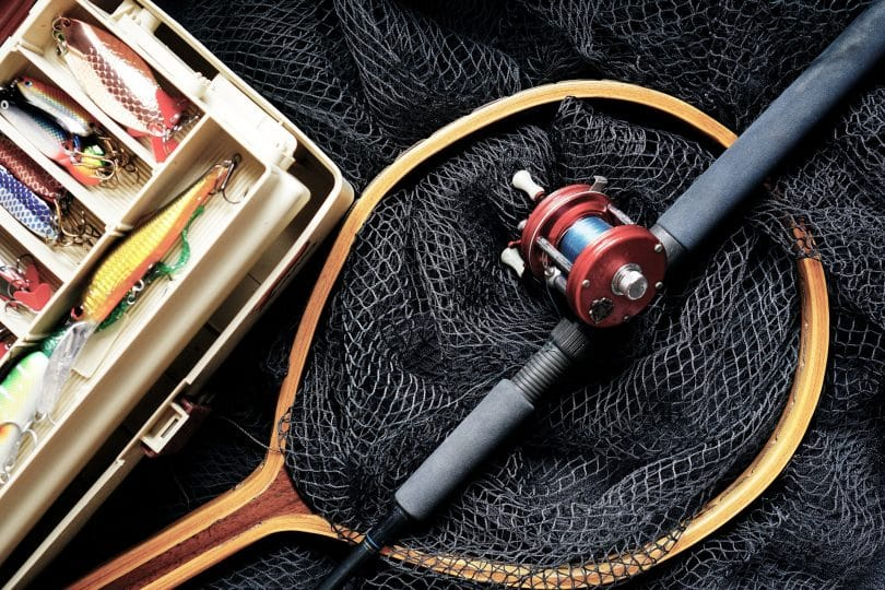 a picture of fishing gear for hikers
