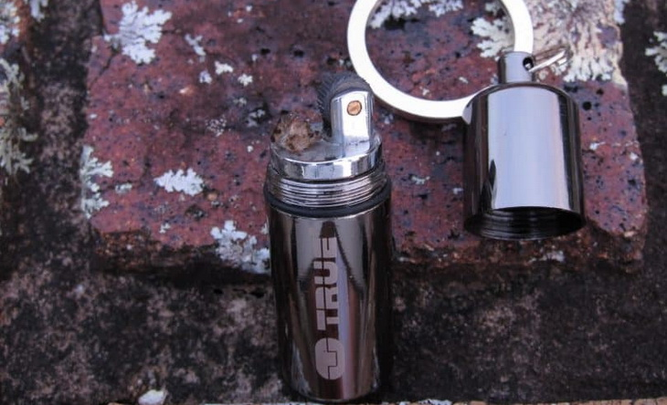 outdoor-windproof-lighter on the ground