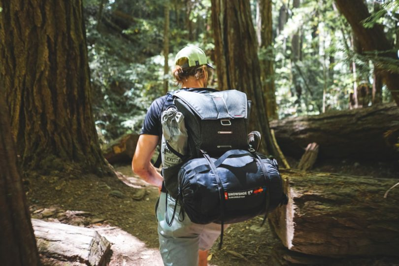 The Everyday Backpack by Peak Design is one of the most expertly-engineered bags I have ever encountered. Literally every single element has been thought through for efficiency, maximum capacity, and accessibility. It has hidden pockets, smart dividers for your camera and lenses, easy access zippers, and multiple configurations depending on your gear.