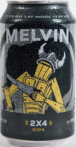 Melvin Brewing 2x4 DIPA