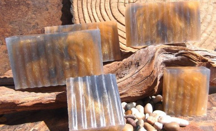 Image showin a campfire-Glycerin-Soap