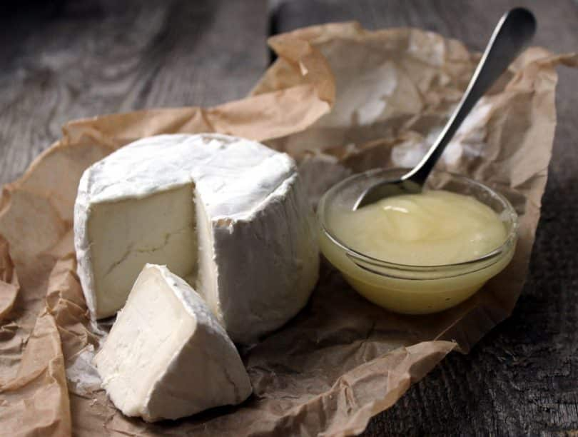 Close-up picture of Cheese