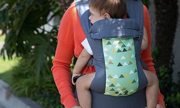 picture of a mother and her child in a Beco Baby Carrier