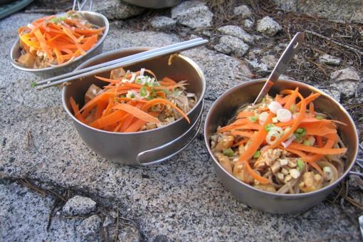 Meals served outside