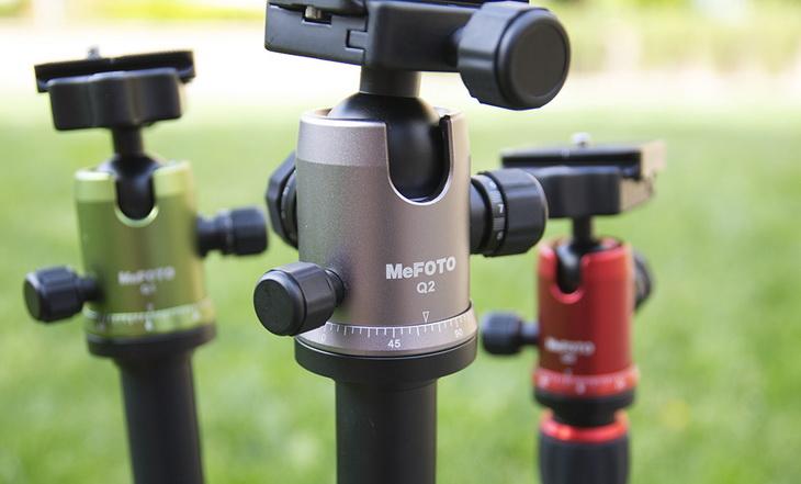 Image of MeFoto Q2 tripods