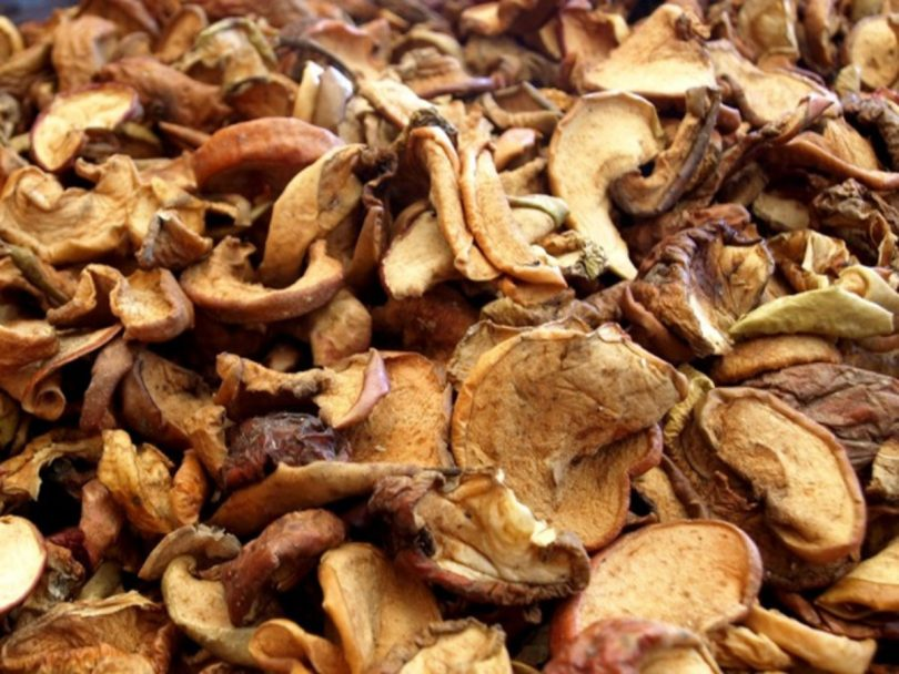 picture of Dried Mushrooms