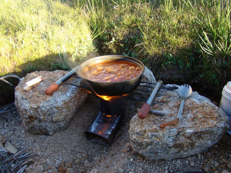 picture of Inexpensive Backpacking Food Right