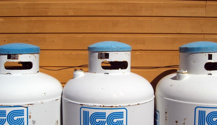 Image showing fuel source for portable heaters