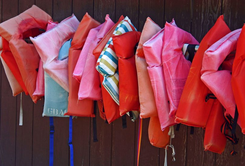picture of lifejackets