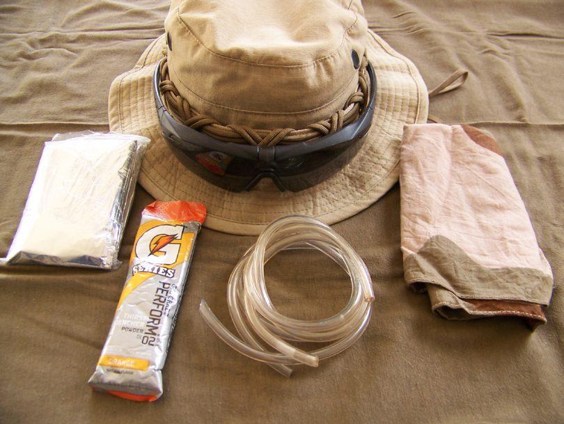 Small Desert Survival Kit
