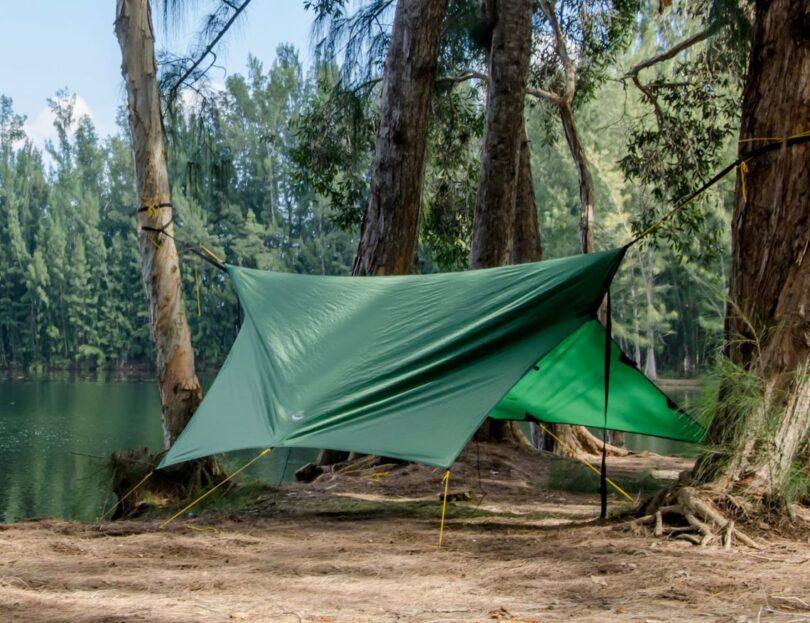 Apex Camping Shelter & Hammock Camping Tarp