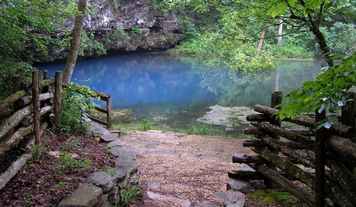 Blue Spring Loop in Wing, Alabama