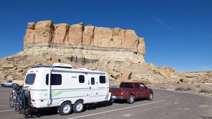 Chaco Canyon Boondocking (Dry Camping)