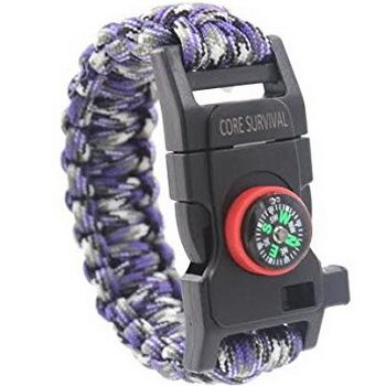 Core Paracord Survival Bracelet