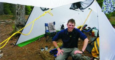 DIY Tarp Tent