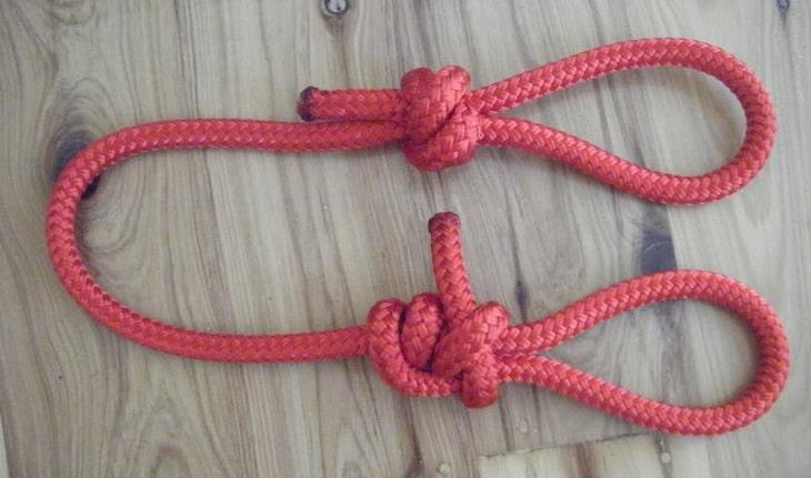 Bowline loop knot