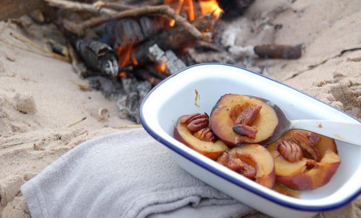 Delicious Campfire Dessert