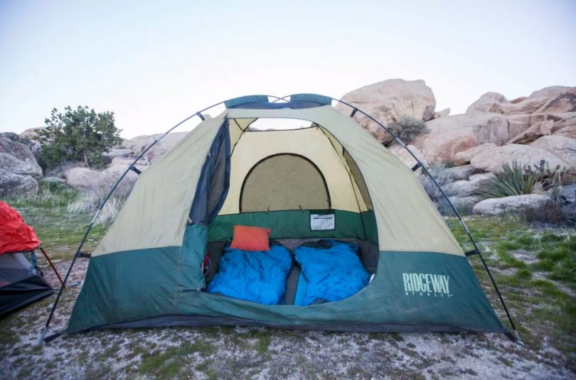 A photo at Desert Tower Tent Camping