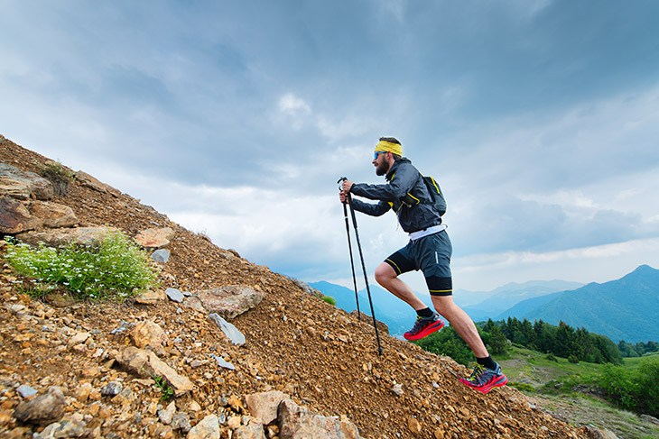 Exercise Gives Explosive Power for Hiking Uphill