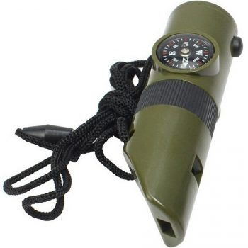 Ezyoutdoor Emergency Whistle Compass