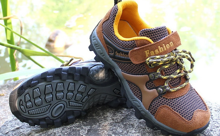 Image showing a pair of -hiking-shoes-for-kid