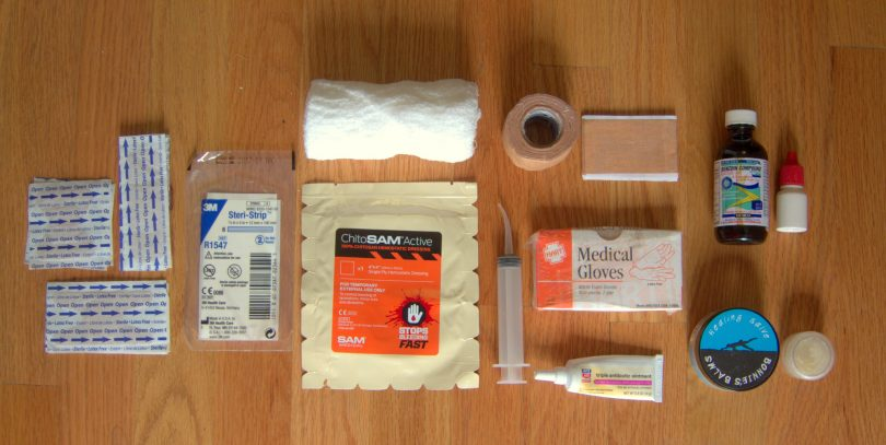Gear List Backpacking First Aid Kit