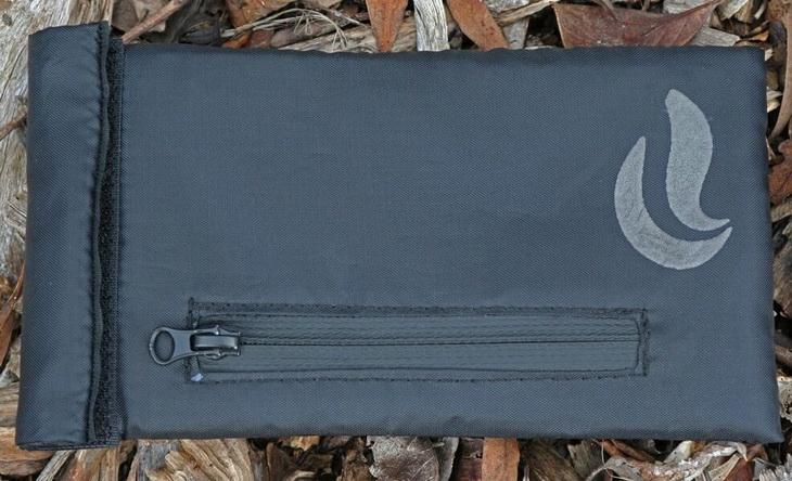 Hiking food in a Skunk Mr Slick Odor Proof Bag for Backpacking