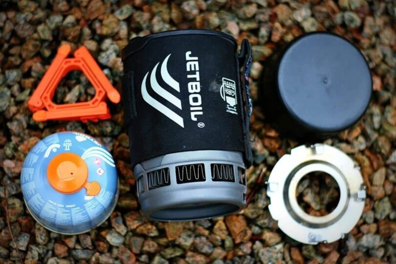 Jetboil stoves light weight