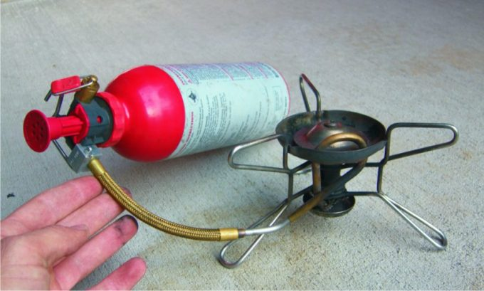 Image showing a Kerosene-Pressure-Stove-system