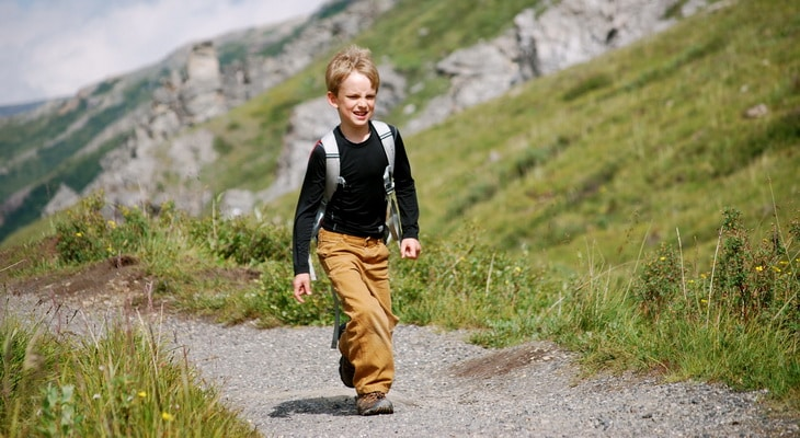 A kid Hikes-in-Denali-National-Park