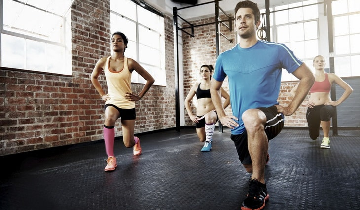 Lunges are one of the best body weight moves for your legs