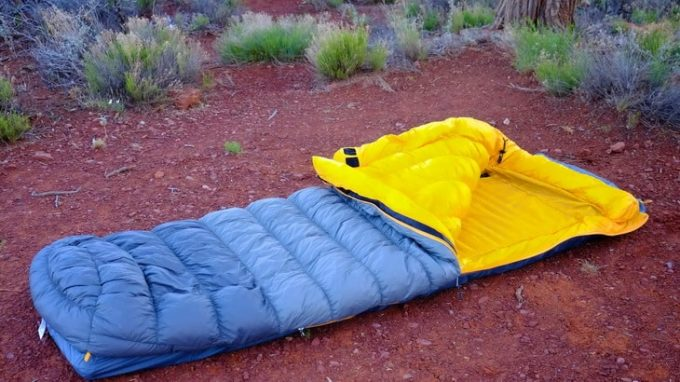 Moonwalk sleeping bag-is-a-perfect-solution-for-anyone-who-feels-restricted-by-mummy-bags-and-want-more-wiggle-room.
