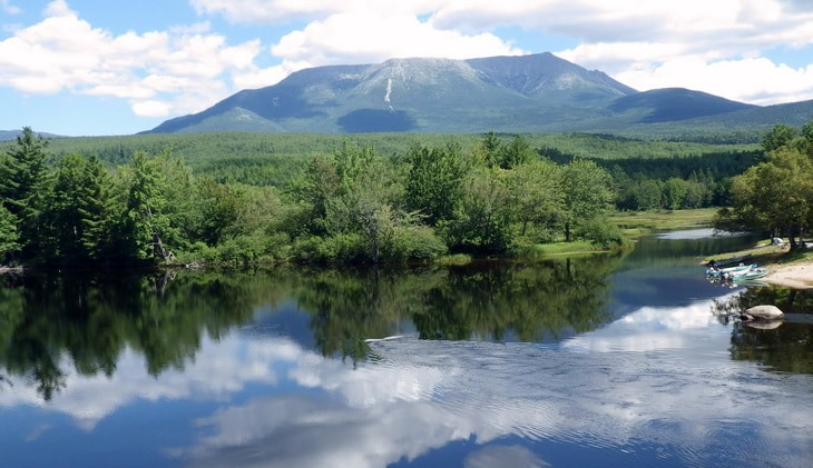 Mount Katahdin in Maine