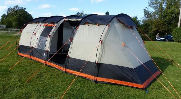 Olpro Wichenford 2.0 Technical Family 8 Berth Tent