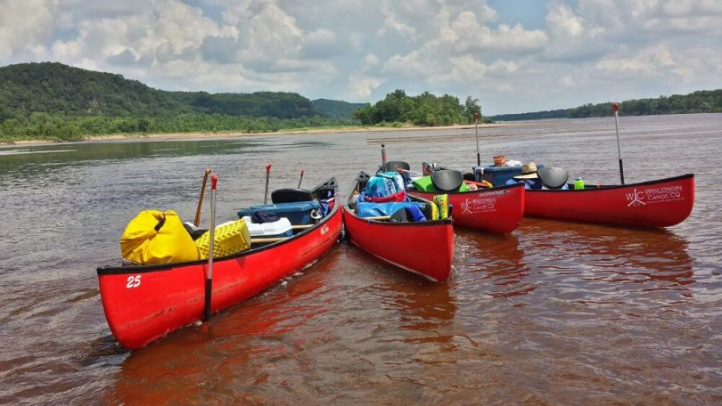 Picture of Canoe and Canoe Equipment