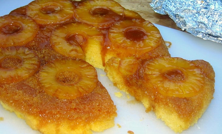 Pineapple Upside-Down Donut