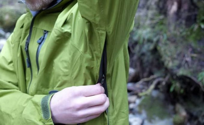 Image showing Pit-zips-on-the-Outdoor-Research-Foray