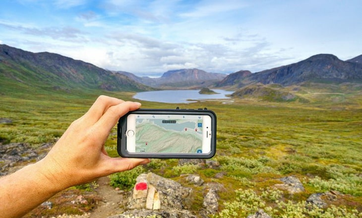 Recording-hike-with-an-app-