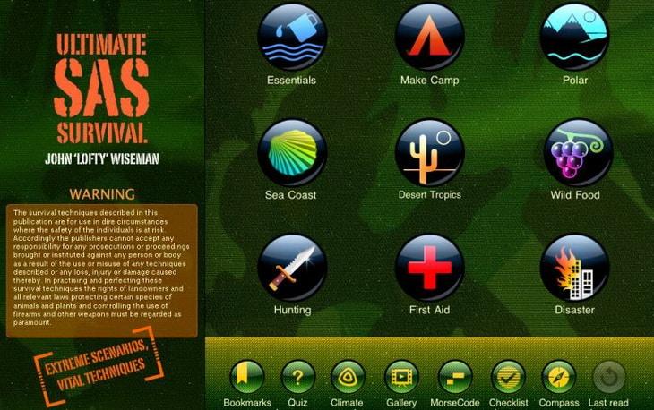 SAS-survival-guide-app