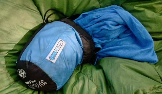 Image showing the Sea-to-Summit-Cool-Max-sleeping-bag-liner