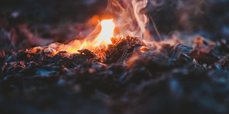 Selective Focus Photo of Fire during Night Time